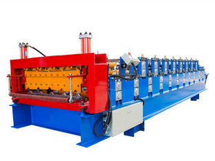 چین Easy Installation Double Layer Roll Forming Machine , Tile Forming Machine تامین کننده