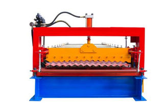 چین Industrial Metal Roof Panel Machine , Blue Color Roofing Sheet Forming Machine  تامین کننده