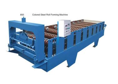 چین Automatic Tile Sheet Metal Roller Machine With Coil Sheet Guiding Device تامین کننده