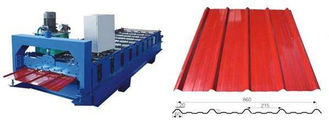 چین Hydraulic Cutting Cold Roll Forming Machines , Steel Roll Forming Machine تامین کننده