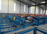 چین Automatic EPS Sandwich Panel Roll Forming Machine With PLC Control System کارخانه