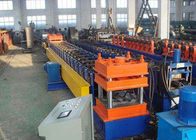 چین Galvanized Steel Highway Guardrail Roll Forming Machine With Easy Operation کارخانه