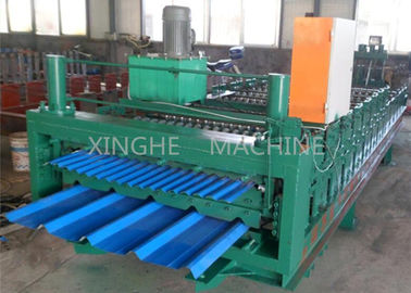 Smart Sheet Roll Forming Machine / Tile Roll Forming Machine For 850 Width Tiles