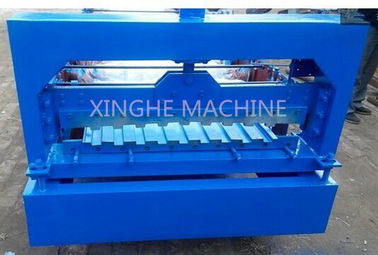 چین Automatic Rolling Shutter Strip Making Machine For Making Corrugated Sheet کارخانه