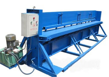 چین Motor Control Roll Forming Production Line , 3 KW Hydraulic Metal Cutter کارخانه