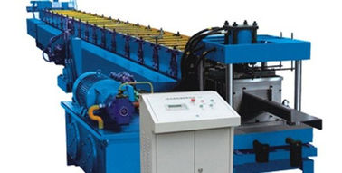 چین Roofing Panel C Channel Roll Forming Machine , C Purlin Forming Machine  کارخانه