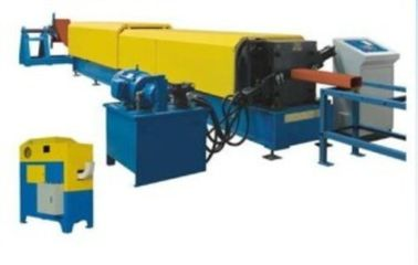 Industrial Downspout Roll Forming Machine With Hydraulic Pipe Bending Machine