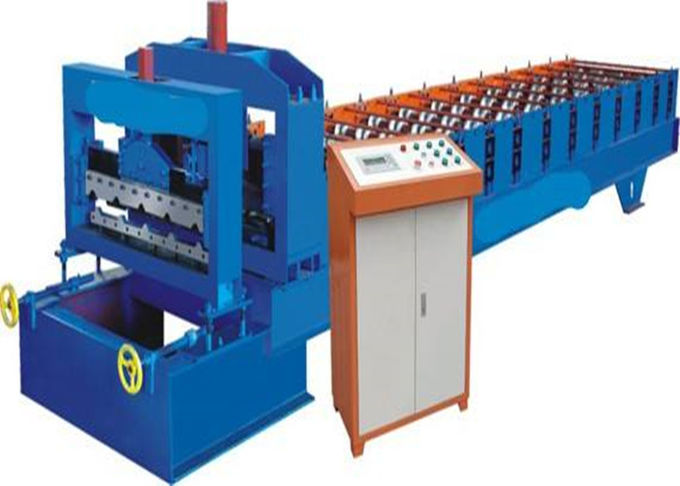Easy Operating Automatic Roll Forming Machines For 840mm Antique Glazed Tile