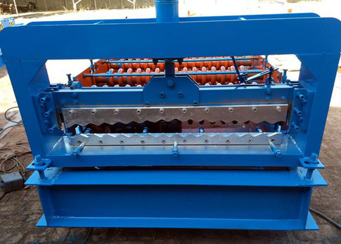 Automatic Tile Sheet Metal Roller Machine With Coil Sheet Guiding Device