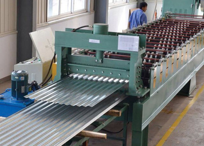 380V 60HZ Aluminum Automatic Roll Forming Machines With PLC Control System